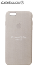 Apple iPhone 6s Plus Carcasa piel gris rosado