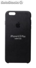 Apple iPhone 6s Plus Carcasa piel negro