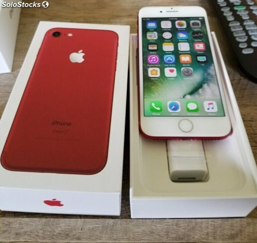 Apple iPhone 7 Plus RED 256GB - Fábrica desbloqueada