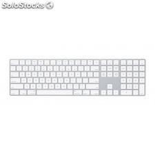 Apple - MQ052Z/a Bluetooth qwerty Inglés Blanco teclado