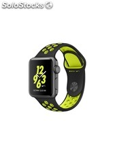 Apple Watch Nike+, caja de aluminio en gris espacial, 38 mm