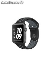 Apple Watch Nike+, caja de aluminio en gris espacial, 42 mm