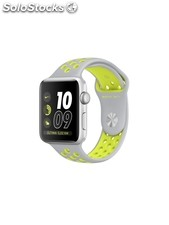 Apple Watch Nike+,correa Nike Sport plata/voltio, 42 mm