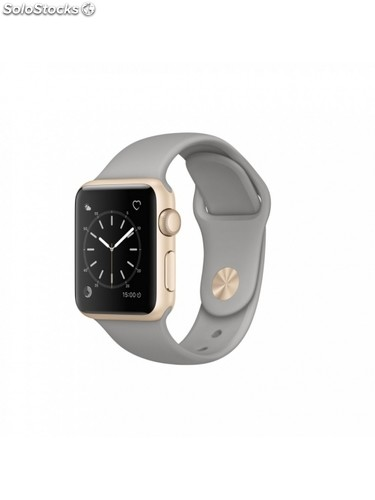 Apple Watch Series 1, 38 mm, gris cem