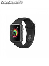 Apple Watch Series 2, correa deportiva negra, 38 mm
