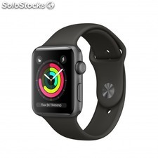 Apple - Watch Series 3 OLED GPS (satélite) Gris reloj inteligente - 22169635