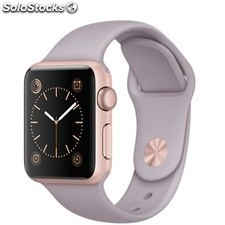 Apple Watch Sport 38mm Aluminio Oro Rosa Correa Lavanda