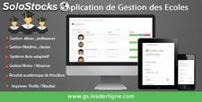application gestion école version 2