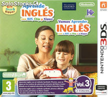 Aprende ingles fibb,chip y kipper 3/3DS