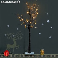 Arbol de Navidad Decoracion con Cuerda 32 Luces LED 120 cm Christmas Tree