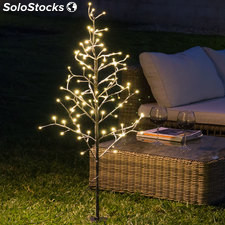 Árbol Decorativo con Nieve (96 LED)