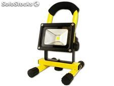 Arcas 10 Watt LED Flood Light rechargeable (Yellow)