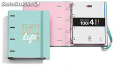 Archivador + Bloc Notebook Sweet Life by MiquelRius