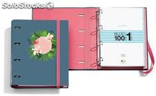 Archivador Jordi Labanda Flamingo + Bloc Notebook