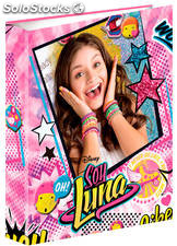 Archivador Soy Luna Surprise 4 Anillas