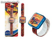 Arditex - Reloj Lcd Forma Blister Spiderman