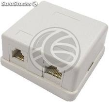 Area of 1 box and 1 RJ45 RJ11 Cat.3 utp Cat.5e (RI11)
