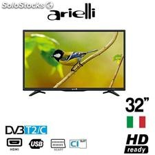 "Arielli tv 32"" led hd readydvb/T2"