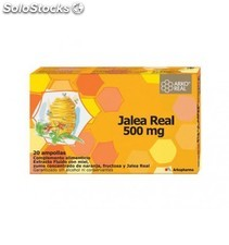 Arkoreal jalea real 500 mg 20 ampollas bebibles