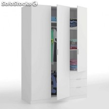 Armario Low Cost 3 puertas - Color - Blanco