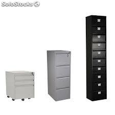 armoire de rangement haute et basse m tallique. Black Bedroom Furniture Sets. Home Design Ideas