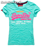 Arrivage t-shirt superdry homme / femme