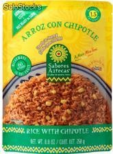 Arroz con chipotle (rice with chipotle) 12/250 gms.