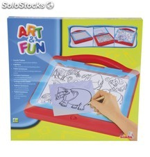 Art & Fun. Tablet luminoso