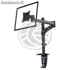 Articulated arm with mast for monitor and LCD desk mount VESA75 VESA100 model