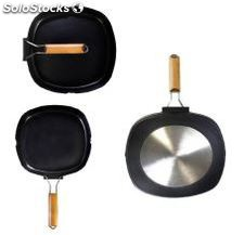 Asador grill liso al. Fundido ecologica full induction wecook oferta