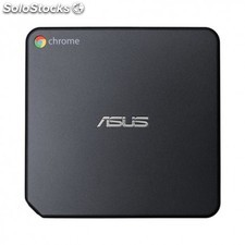Asus - CHROMEBOX2-G011U 2.4GHz i7-5500U 0,6 l tamaño pc Negro Mini pc