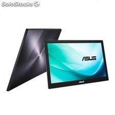 "Asus - MB169B+ 15.6"""" Full hd ips Negro, Plata pantalla para pc"