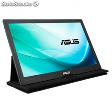 "Asus - MB169C+ 15.6"""" Full hd ips Negro, Gris pantalla para pc"