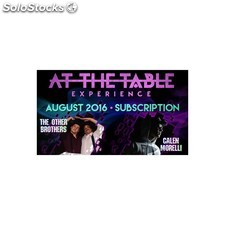At the table august 2016 subscription video download (descarga)