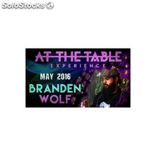 At the table live lecture branden wolf may 4th 2016 video download (descarga)