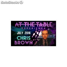 At the table live lecture chris brown july 6th 2016 video download (descarga)