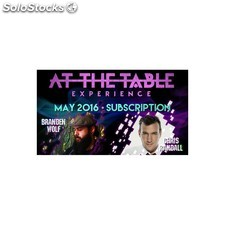 At the table may 2016 subscription video download (descarga)