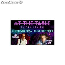 At the table october 2016 subscription video download (descarga)