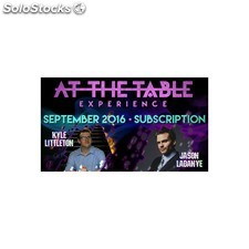 At the table september 2016 subscription video download (descarga)