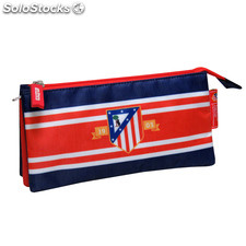 Atletico madrid portatodo triple bordado