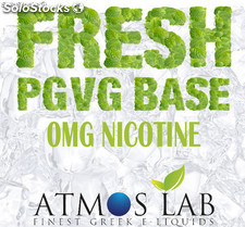 Atmos Lab Fresh pgvg Base 0mg 100ml