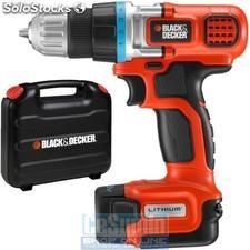 Atornillador/taladro ultracompacto 10.8v con maletin litio - black&decker