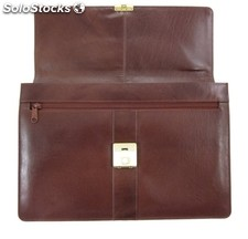 Attache Brown Vegetable Tanned Cowhide