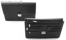 Attache Case Black Cowhide Nappa