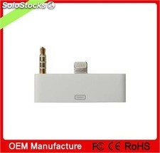 audio adaptador de encender 30 pines para iphone 5s y 5 tht0155