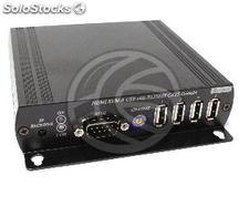 Audio hdmi Extender ir usb RS232 Cable utp Cat.6 Cat.5e and single receiver