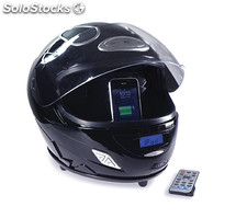 Audio System In A Full Face Helmet Design, With In
