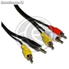 Audio + Video tv Cable m/m 15m (TV55)