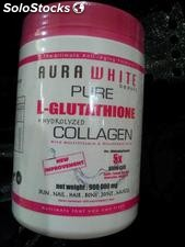Aura White Pure l-glutathione Collagen 900,000mg