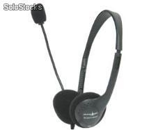 Auricular con microfono shark net sn-easy home y regulador de volumen